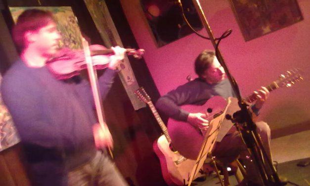 Concert live de Michel Gentils & Alexei Aigui