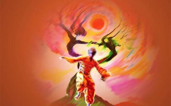 La danse africaine d'ancrage