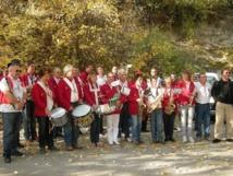 Fête de la Transhumance 2013 : «La Banda Echo Diois» en vadrouille dans les rues de Die