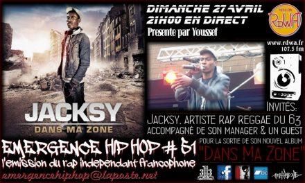 Emergence Hip Hop #51 Avec Jacksy, Kzano & Mathilde
