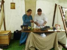 Tous en Bottes 2015 : Azalaïs et sa cuisine médiévale