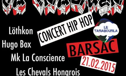 Mon Farmer Va Craquer : Concert Hip-Hop à Barsac