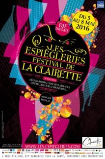 Les Espiègleries Festival de la Clairette, en direct du Café des Lys le 7 mai 2016