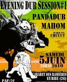 Dub Station (24) : Mahom & Panda Dub, Cabaret des Ramières