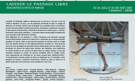 Laisser Le Passage Libre