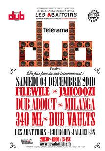 Dub Station (46) : Telerama Dub Festival 2010 Live Sessions, Les Abattoirs de Bourgoin-Jallieu