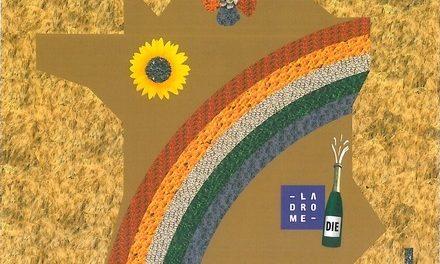Tour de France : Fresque Végétale