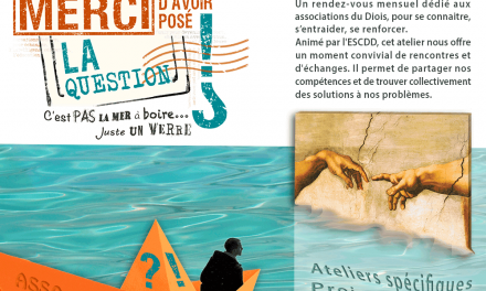 Ateliers, formations … les assos s'associent !