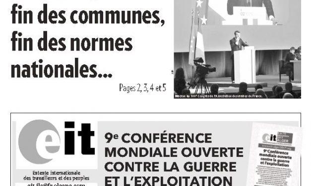 Tribune Libre #13 «Ce que voudrait Macron»