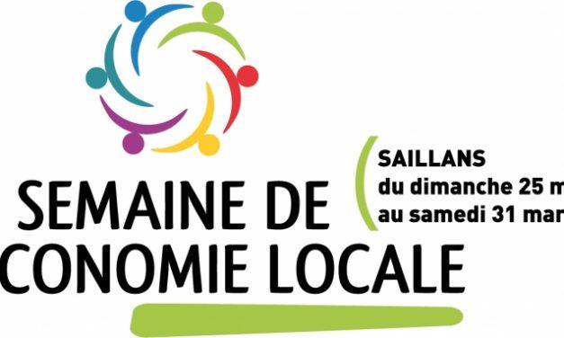 La semaine de l'économie locale : 25-31 mars à Saillans !