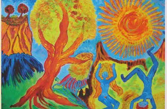 Arbres et Soleils, exposition à Ponet