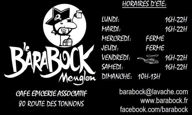 Le Barabock : Bar Associatif de Menglon