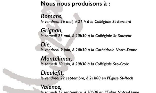 Choeur Adhémar chante le Requiem de Mozart à la Cathédrale de Die