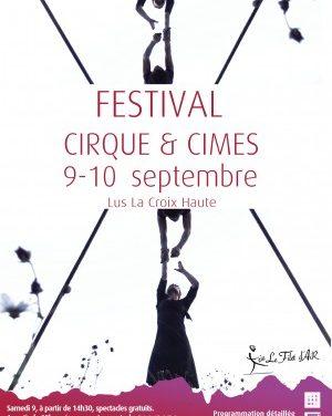 Festival : Du cirque et des cimes de Lus-la-croix-haute