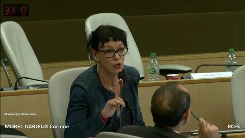 Corinne Morel Darleux : Rapport de l'Assemblée plénière régionale du 22 septembre 2016