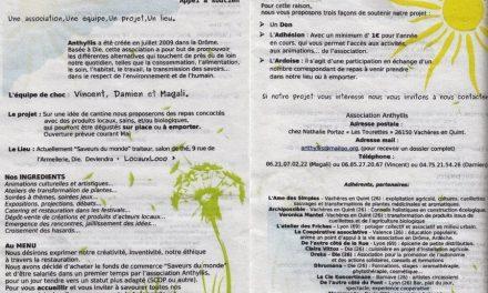Inauguration de la cantine associative «Locaux Loco» à Die