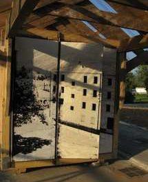 Un Kiosque aux Chaux, une installation du collectif EXYZT