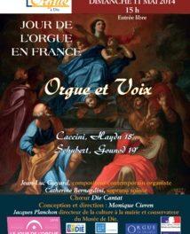 Association des amis de l'orgue à Die – Concert le dimanche 11 mai
