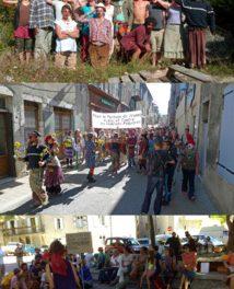 13/09/14 à Die : Manifestation contre les violences policières et pour le partage de l'espace public
