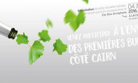 Côté Cairn : Nouvelle Clairette, Nouvelles Valeurs…