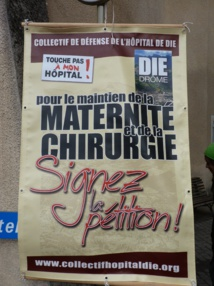 Fermeture de la maternité de Die, NON merci !