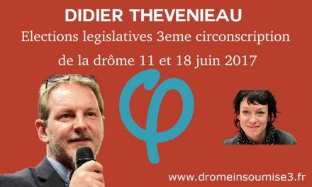 France Insoumise : Élections Législatives, 3e circonscription de la Drôme et rôle du Député