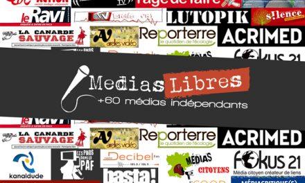 Eloïse Lebourg de la Coordination permanente des médias libres