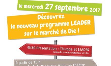 L'Europe et Leader pour les projets du Diois