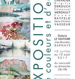 Exposition «De couleurs et d'eau» à Barnave
