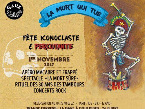 Novembre à La Gare à Coulisse !