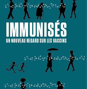 Lise Barnéoud et le livre «Immunisés»