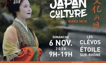 Japan Culture «Bunka No Hi» dimanche 6 novembre à Étoile-sur-Rhône