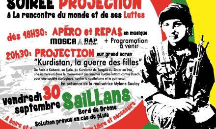 «Kurdistan, la guerre des filles» à Saillans