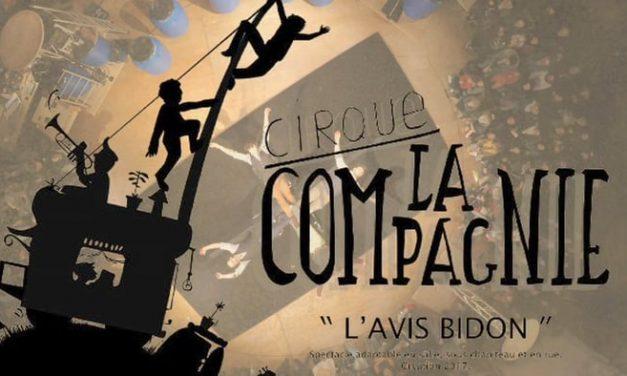 Cirque La Compagnie à la Gare à Coulisses avec l'Avis Bidon le 3 février 2018