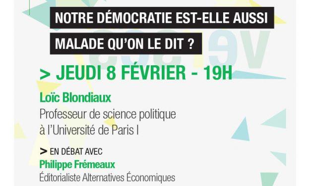 Loïc Blondiaux aux Controverses du Campus