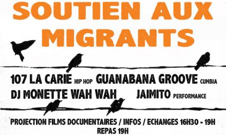 Soirée de soutien aux migrants à Menglon