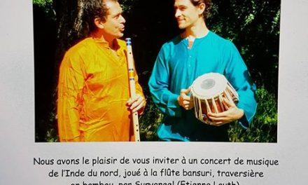 Suryaneel : concert de musique indienne à Menglon
