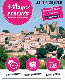 Villages perchés de Drôme et d'Ardeche