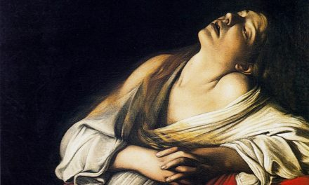031 Le Point sur l'Art : Madeleine en extase par Le Caravage