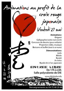 Animations au profit de la Croix Rouge Japonaise, vendredi 27 mai 2011