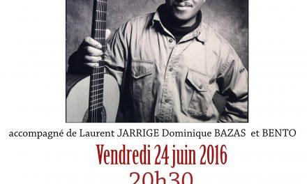 Le Cap Vert à Ponet avec Jorge Humberto au Vin de l'été