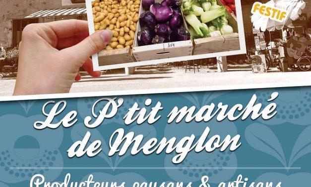 Le collectif du petit marché de Menglon