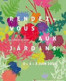 Les 4 et 5 juin 2016 : Rendez-vous aux jardins !