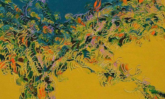 Le peintre Yves Ribard