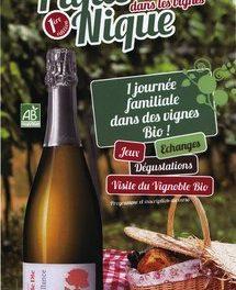 Le 12 juin 2011, pique-nique Jaillance dans les vignes Bio !