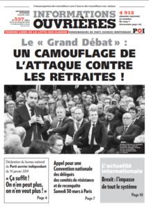 Tribune Libre # 24 «Quand le grand débat, le petit reste chez lui ?»