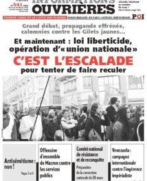 Tribune Libre # 26 Pendant les travaux la vente continue