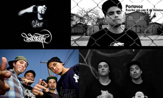 A LA RECHERCHE DU GROOVE PERDU  (272) Hip hop chileno 2