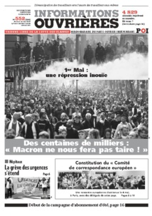 Tribune Libre # 30 Nous ne sommes pas dupes !