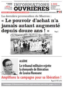 Tribune Libre # 31 Répression : Nous accusons !